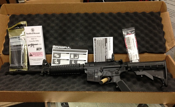 "S&W M&P15 Sport II 556 NATO 16"" Item#10102"